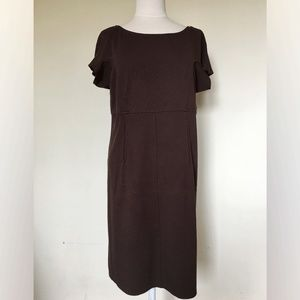 Studio M Woman Brown Dress (1X)